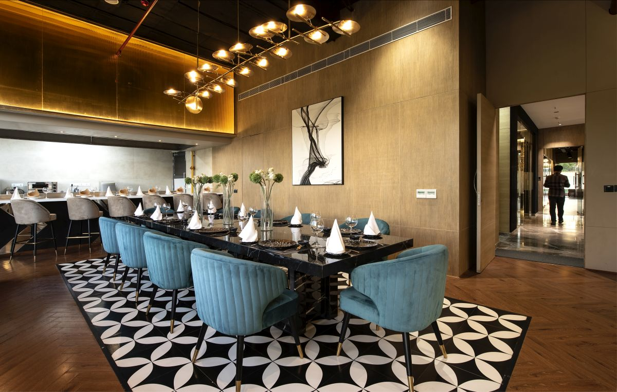 High-End Hospitality Corporate Office, at India, by Parag Singal Architects 8
