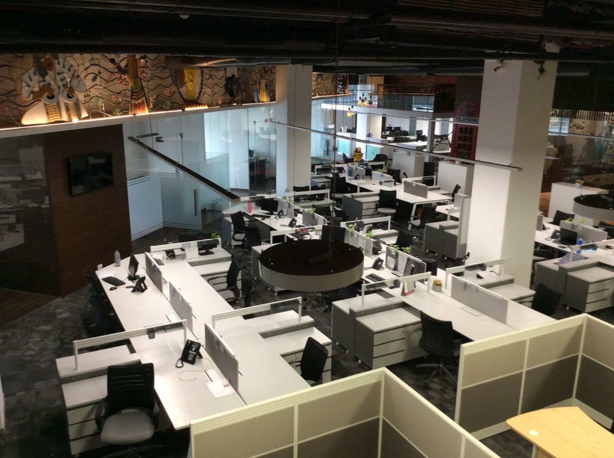Contemporary Corporate Office, at Gurugram, Haryana, by Parag Singal Architects 16