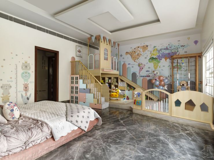 This nursery at Faridabad, by Thinkcutieful is high in style 3