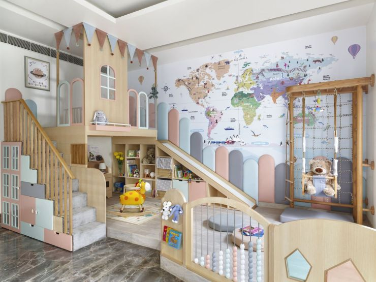 This nursery at Faridabad, by Thinkcutieful is high in style 9