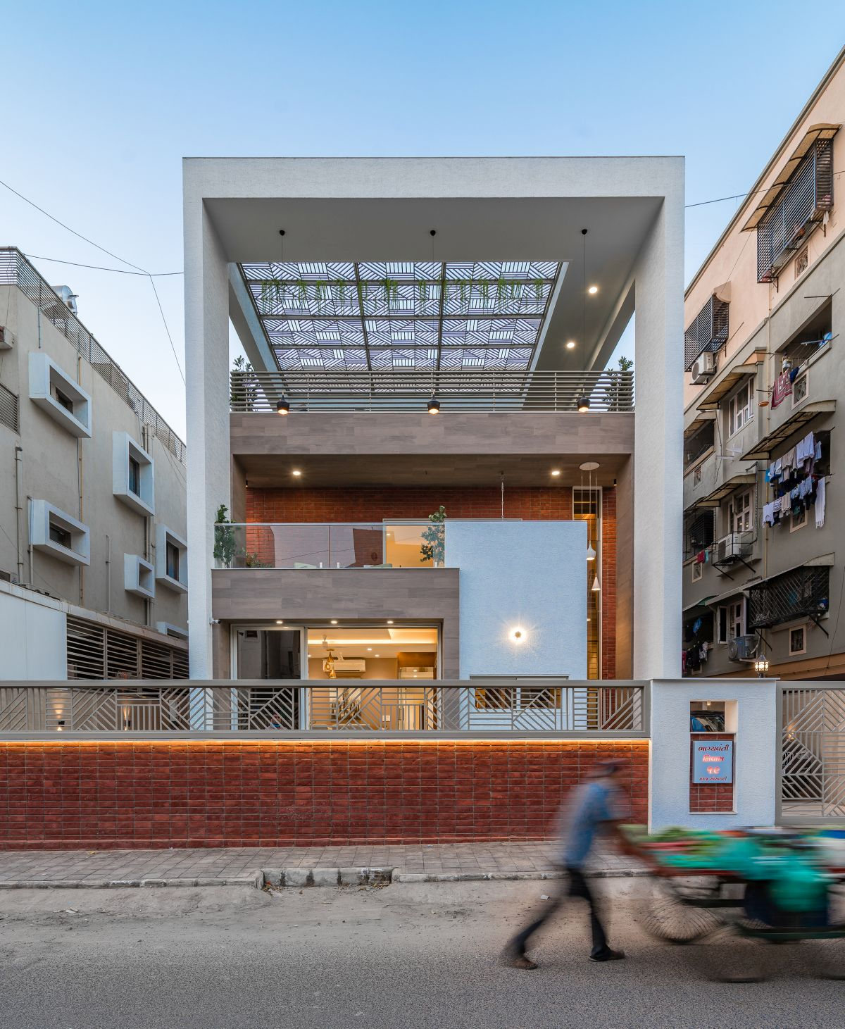 The Shaded House, at Ahmedabad, by Shayona Consultant 6