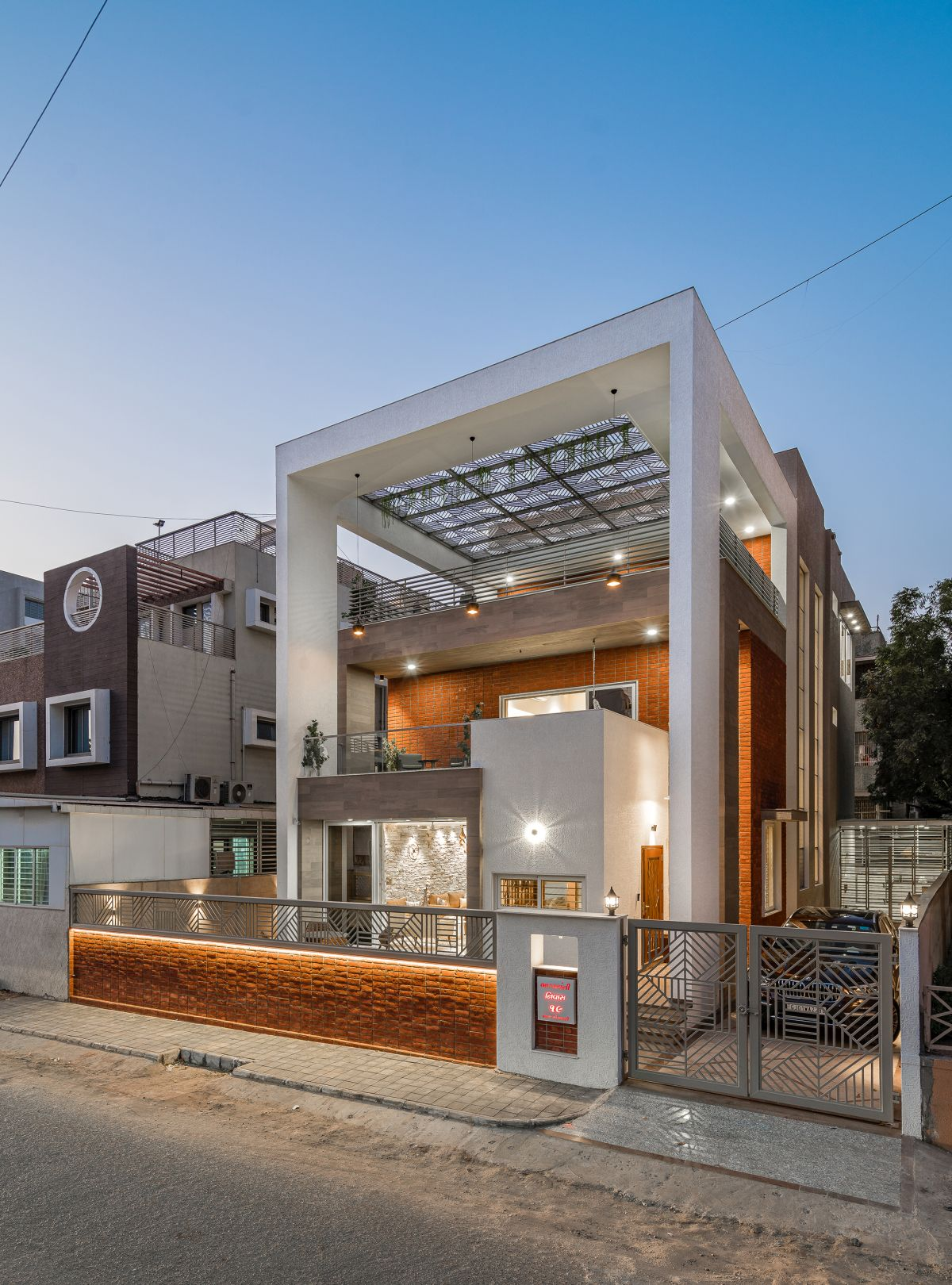 The Shaded House, at Ahmedabad, by Shayona Consultant 4