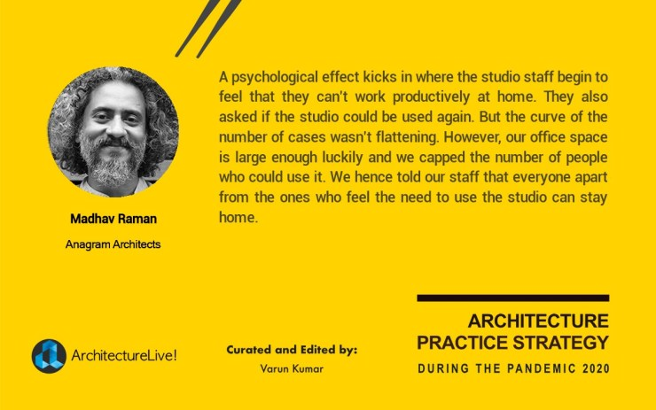 Re-emergence of Architectural Practice in India from the Pandemic 2020 11