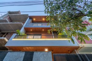 Tropical House, at Noida, U.P, by Unbox Design