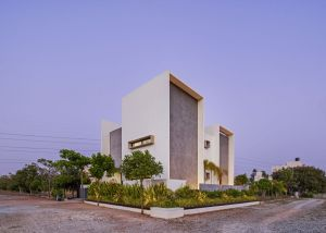 Framed House, at Bangalore, India, by Crest Architects