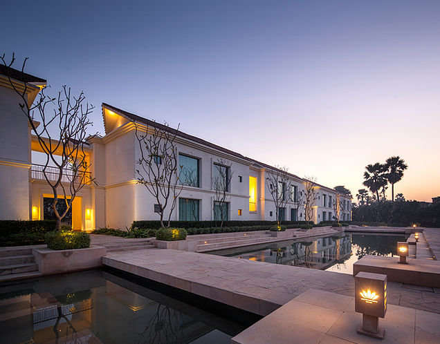 Hotel at Bodhgaya, by SJK Architects 1