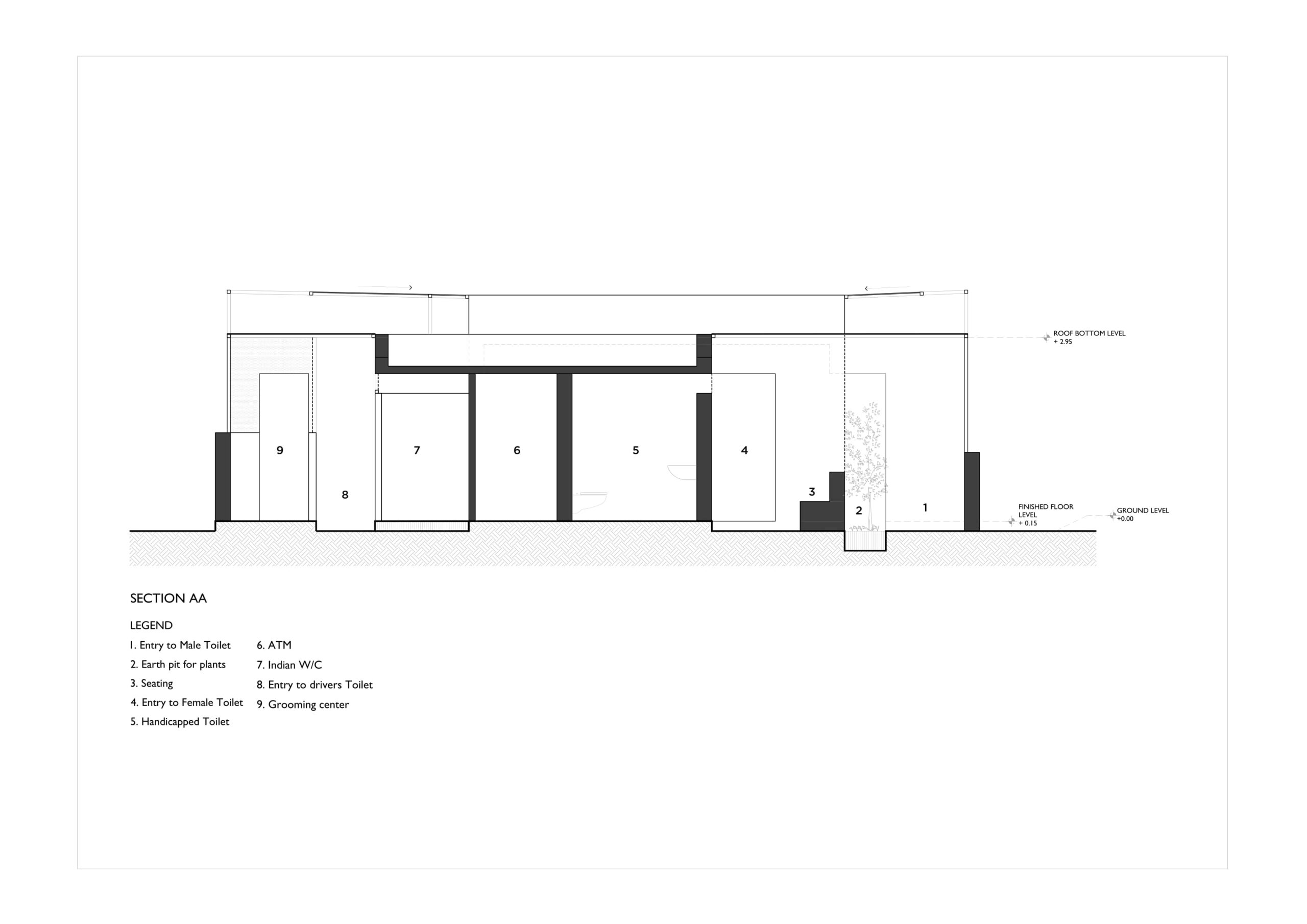 Pause - Restrooms, at Bombay-Goa Highway, by RC Architects 96