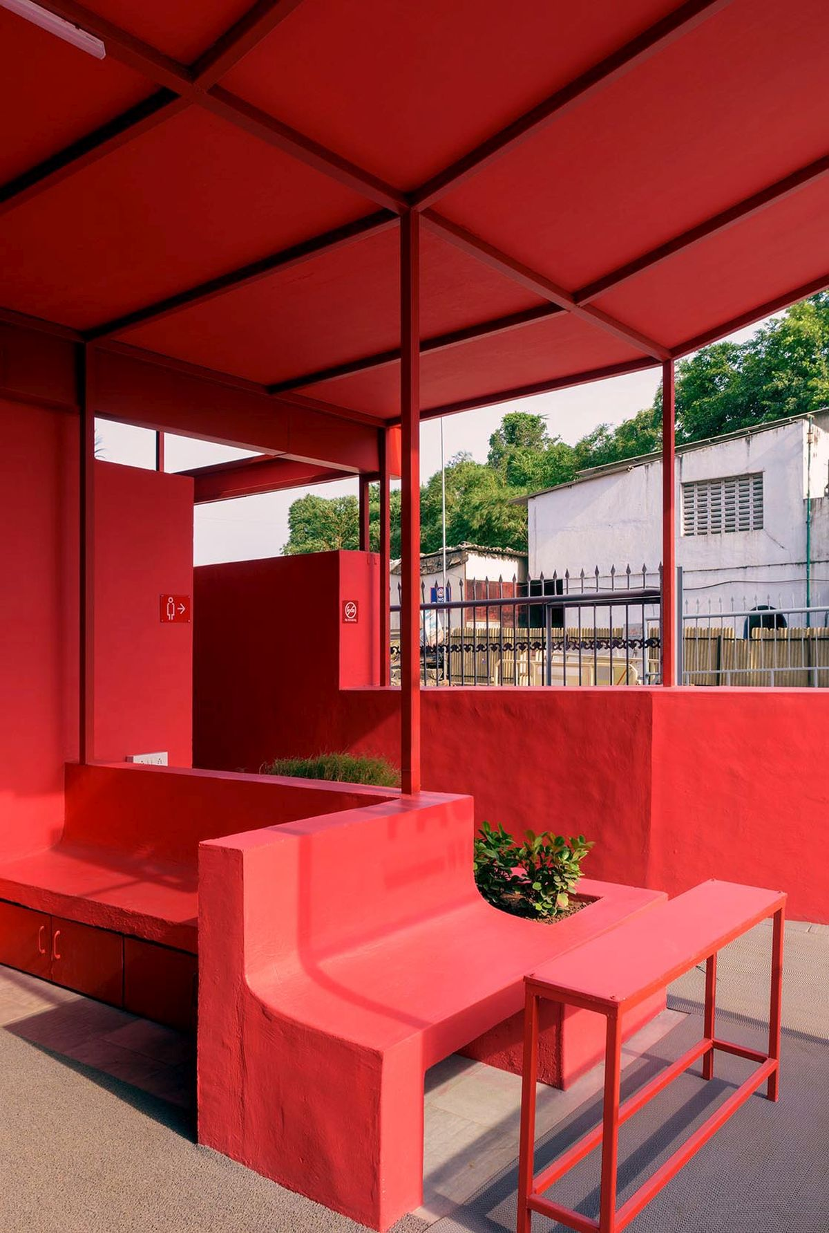 Pause - Restrooms, at Bombay-Goa Highway, by RC Architects 9