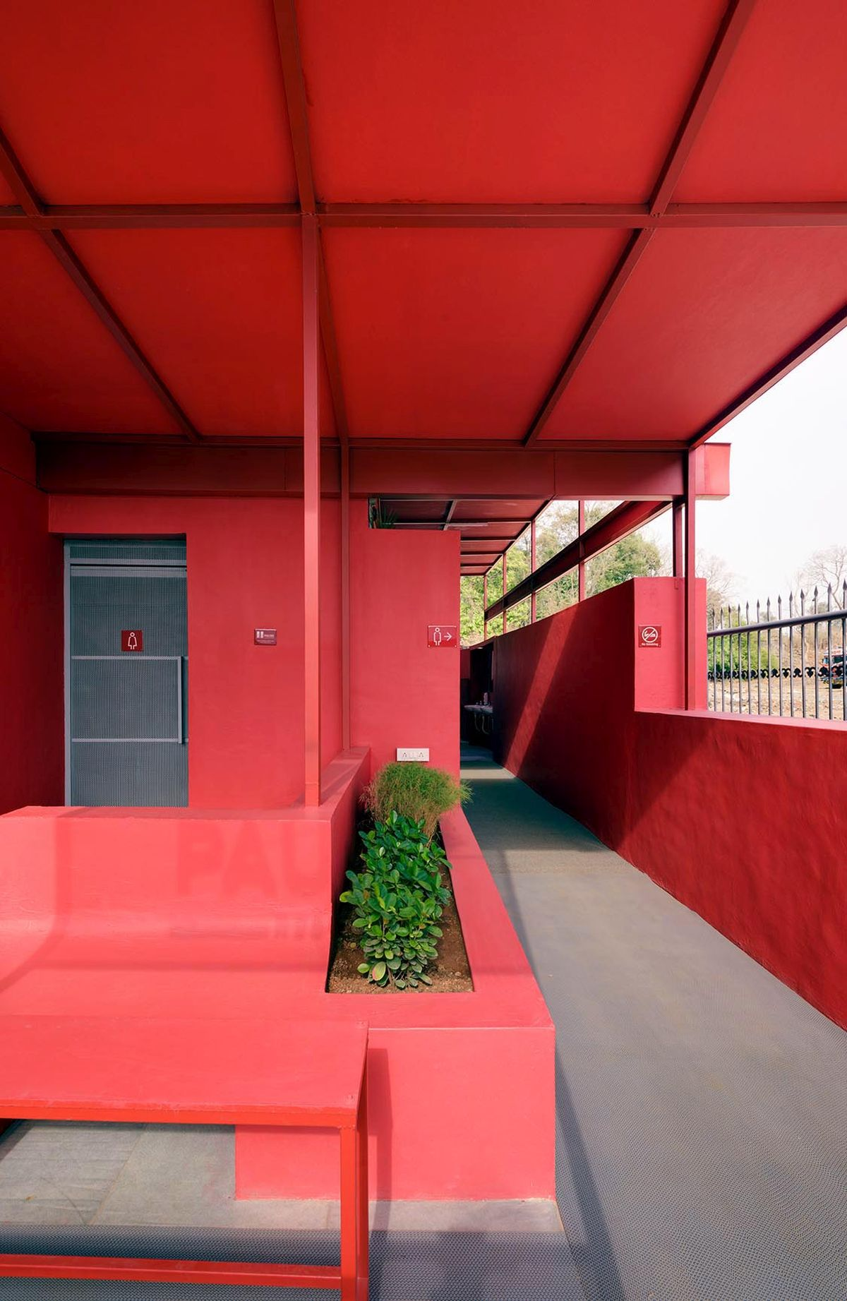 Pause - Restrooms, at Bombay-Goa Highway, by RC Architects 11