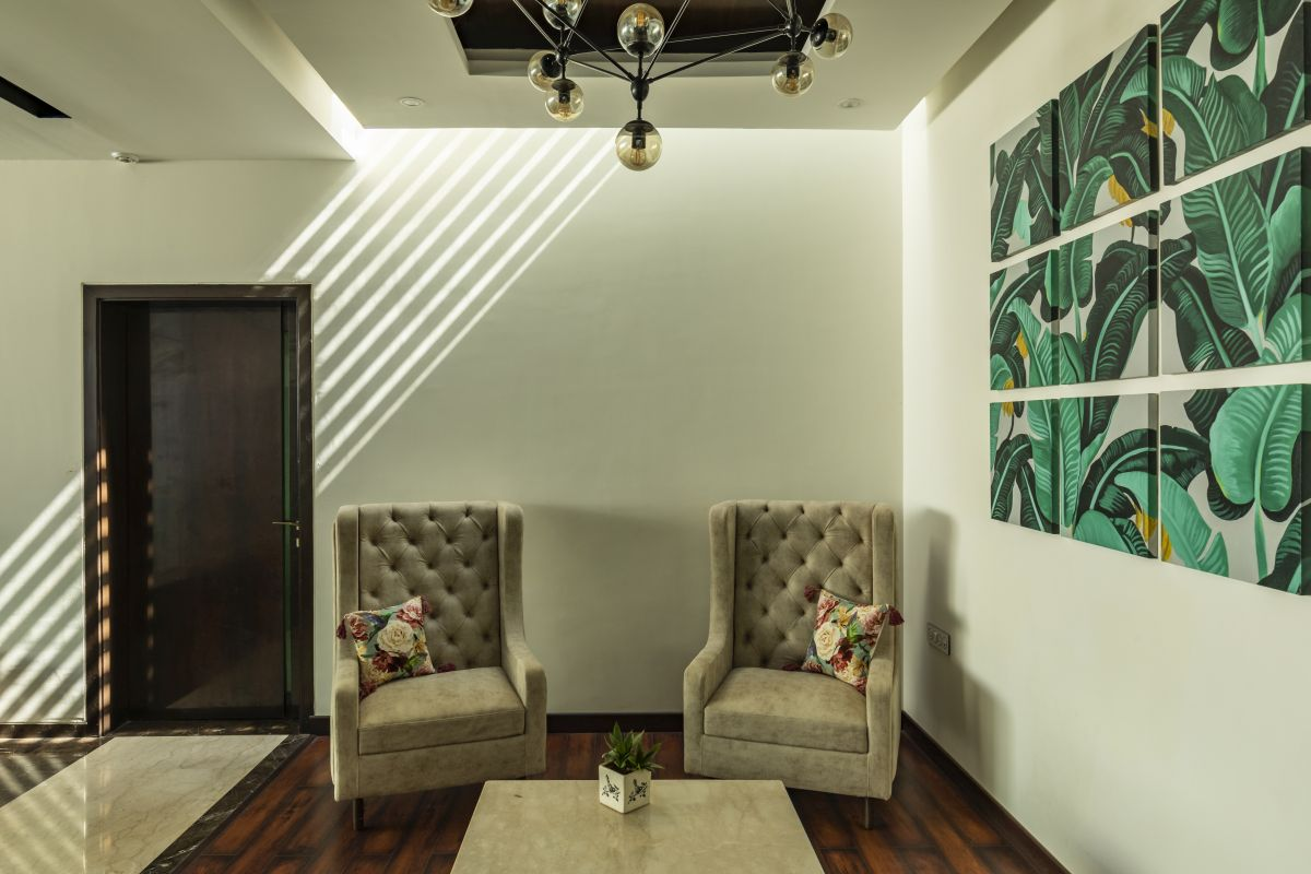 The Leaf House, at Indore, M.P, by Span Architects 88