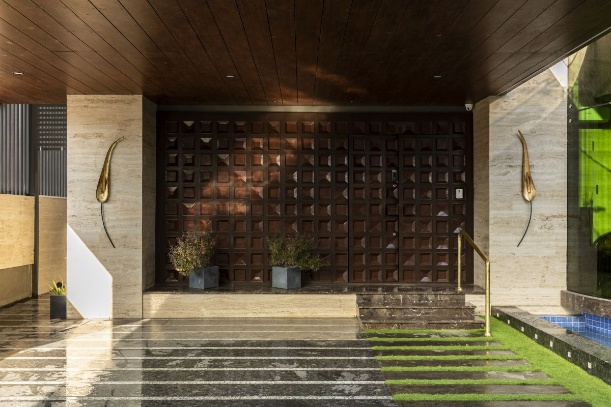 The Leaf House, at Indore, M.P, by Span Architects 14