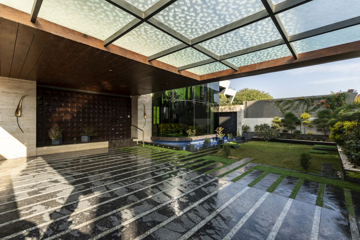 The Leaf House, at Indore, M.P, by Span Architects 16