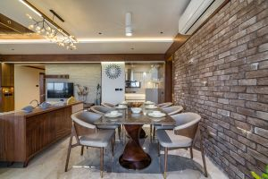 4BHK Interior Design At Aman Apartment,Ahmedabad, by Shayona Consultant