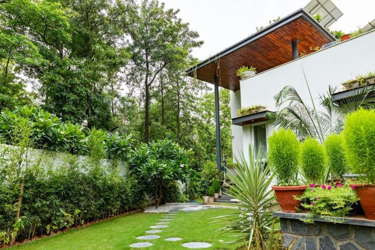 A House Surrounded by a Green Footprint | Ansal Villas, by RSDA 2