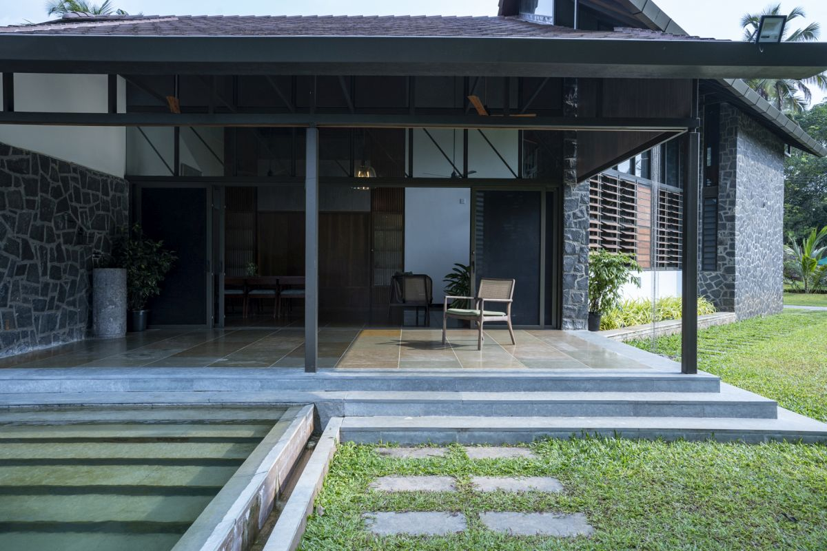 Dr Maani House 2020, at Koothattukulam, by RGB Architecture Studio 12
