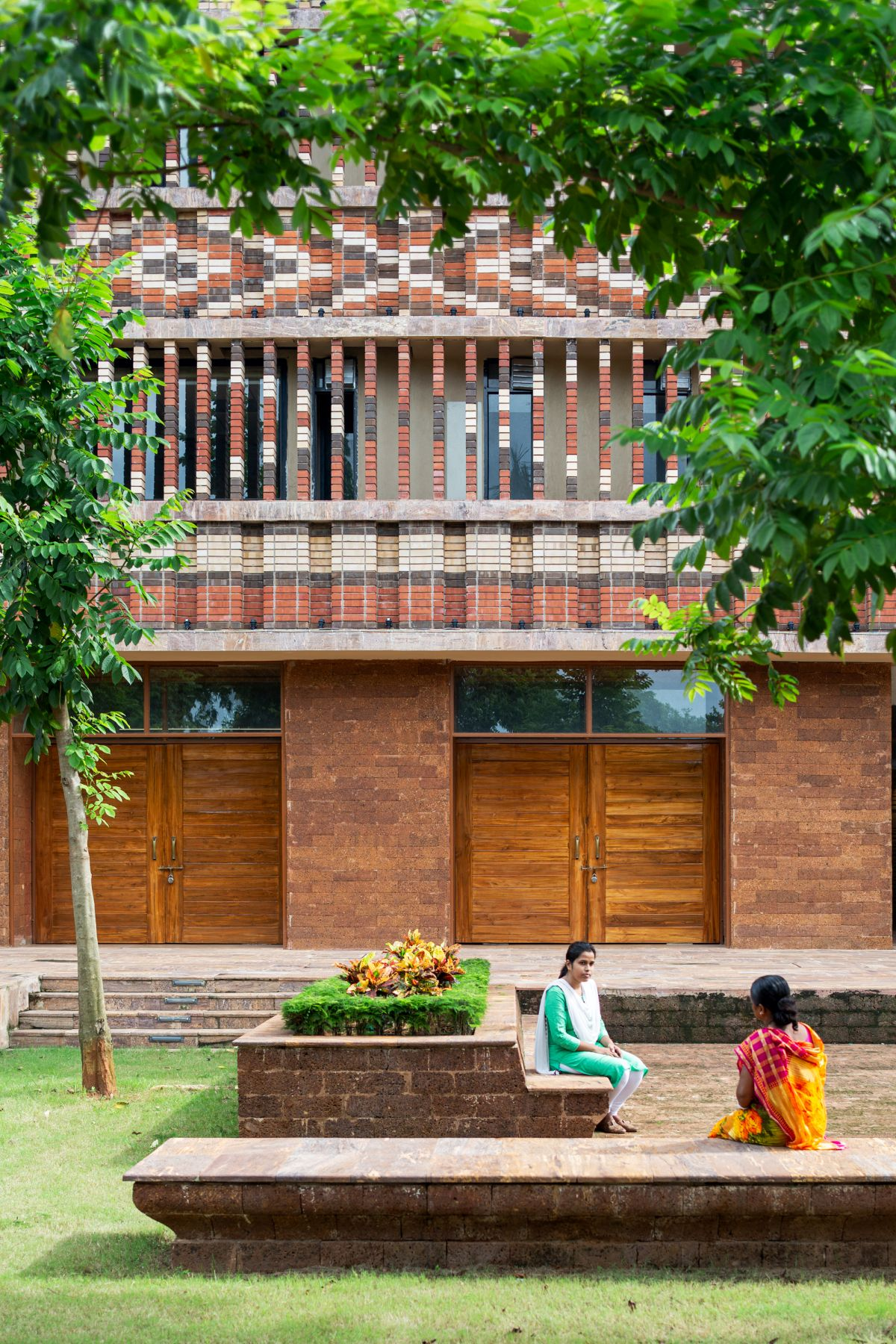 Krushi Bhawan   150 Local Artisans Come Together to Craft a Civic Building in India, by Studio Lotus 6