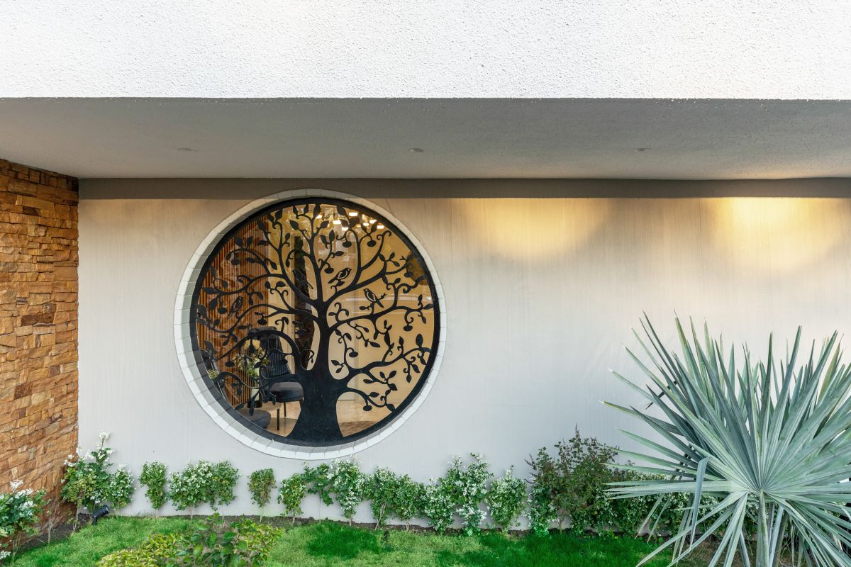 Yellow Stone House, at Indore, by Span Architects 12