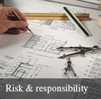 The architecture of risk and responsibility