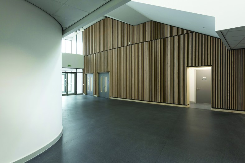 Altro XpressLay™ is recommended for Wales super school