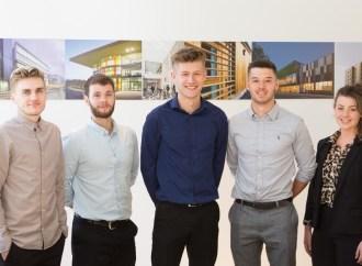 Five new hires at Pozzoni Architecture