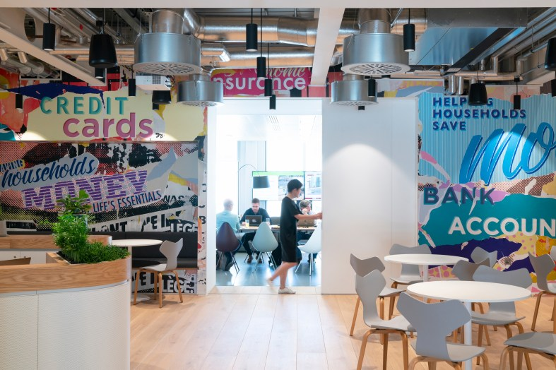BDG architecture + design transform MoneySupermarket Group's new home
