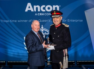 Lord-Lieutenant presents Ancon with third Queen's Award for Enterprise