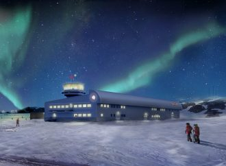 Discovery Building at Rothera Research Station breaks ground