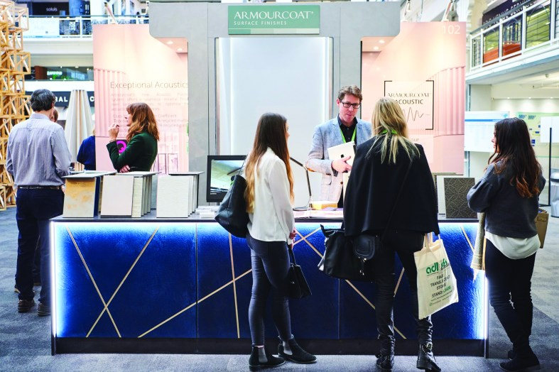 Quiet Zone creates waves on Armourcoat SDS stand