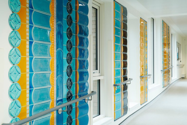 Engaging the senses in The Tile Corridor