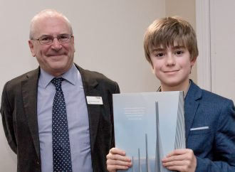Young boy praised for Footbridge Design competition entry
