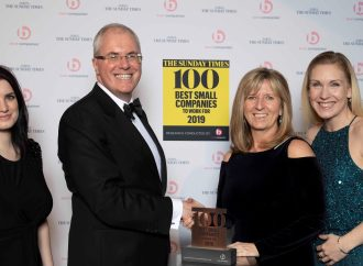 HLM Architects made Sunday Times Top 100 Best Small Companies