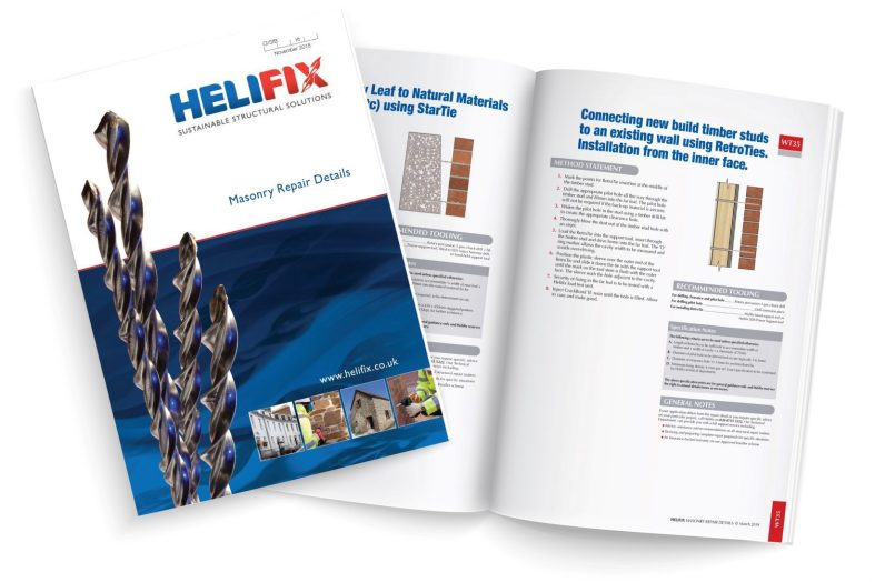 Helifix adds to its extensive range of Masonry Repair Details