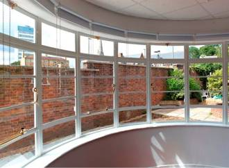 Steel windows shine in school conversion