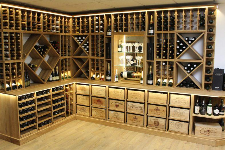 Bespoke wine racks since 1977