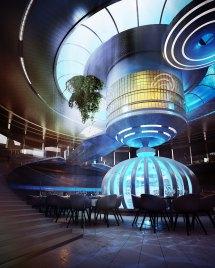 Water Discus Underwater Hotel Dubai