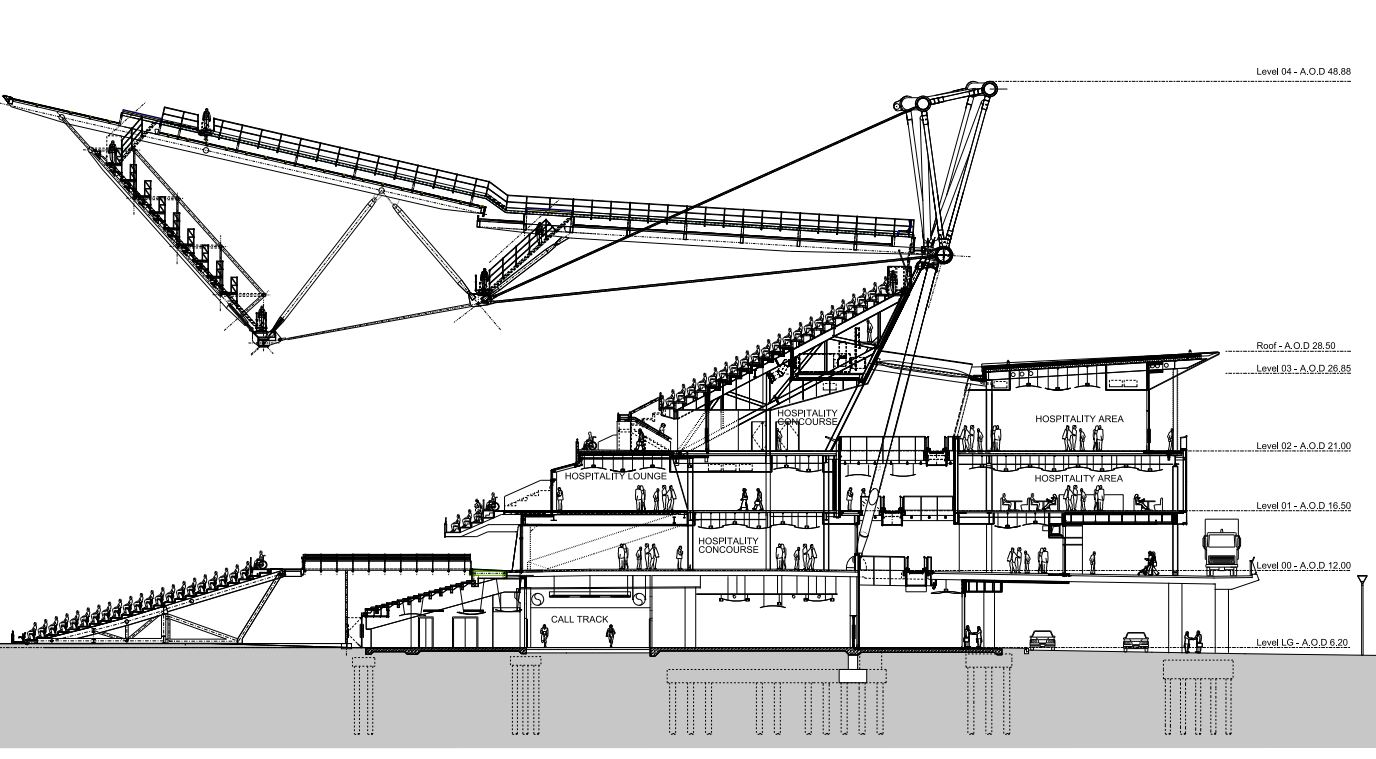 London 2012; Transformation Olympic Stadium (3