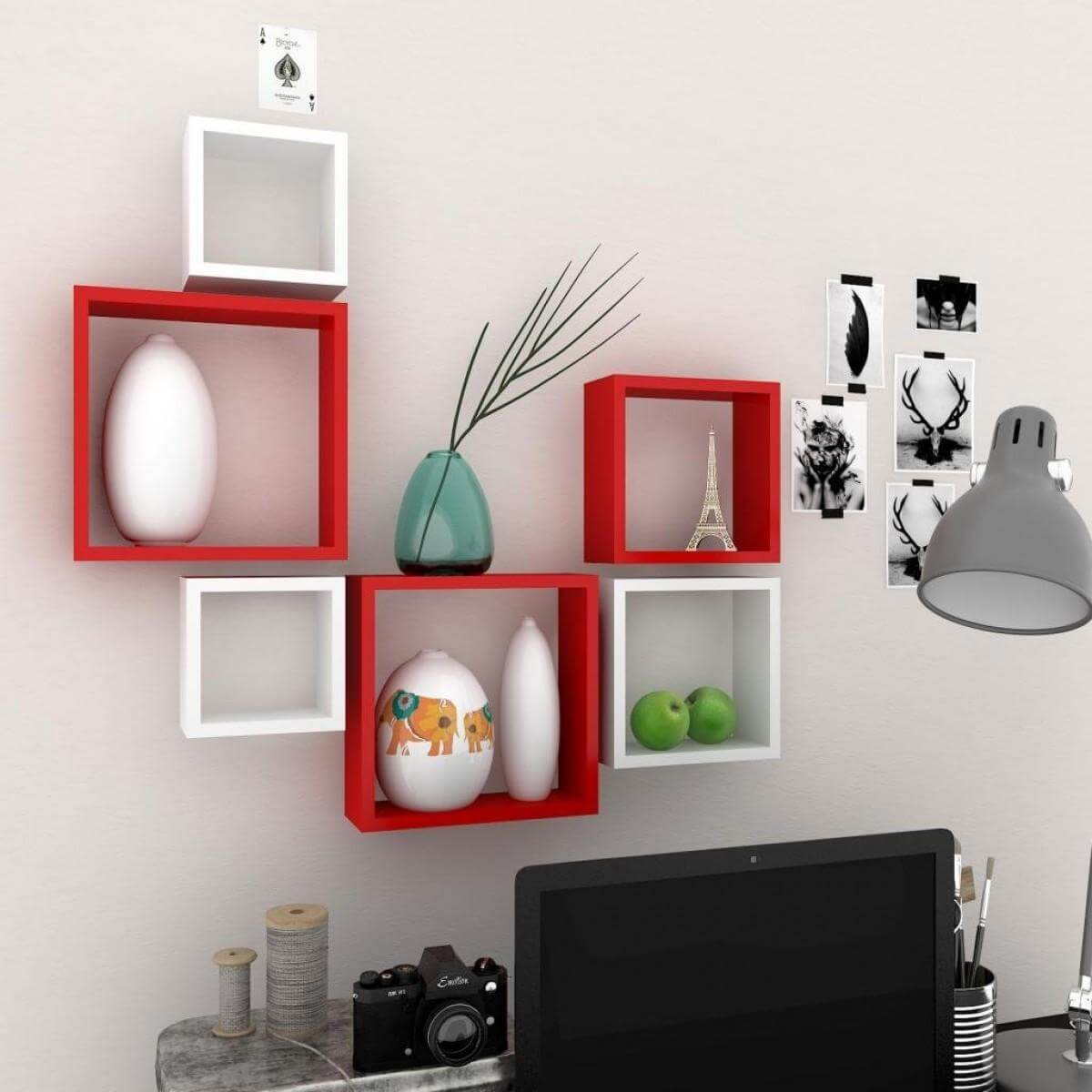 Beautiful Contemporary Shelves Designs That Make Storage
