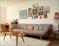 Stylish Living Room Designs Ideas In Retro Style