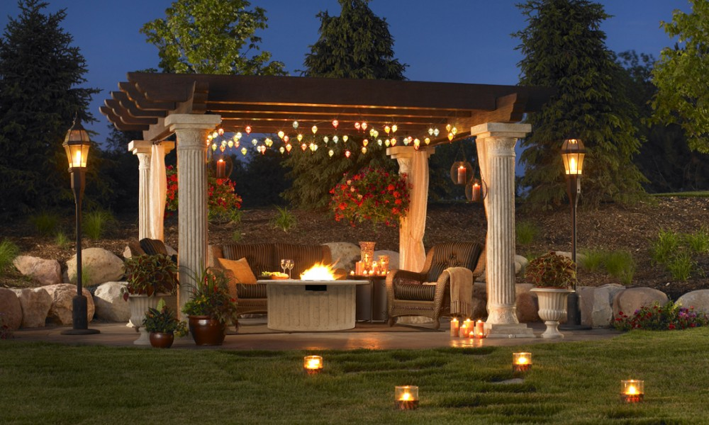 Best 9 Patio Lighting Ideas To Light Up Your Backyard  Architecture Ideas