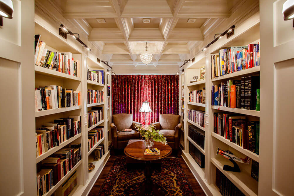 27 Lavish Design Ideas For Home Library Around The World
