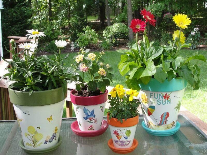 16 Pretty Flower Pot Craft Ideas  DIY Today