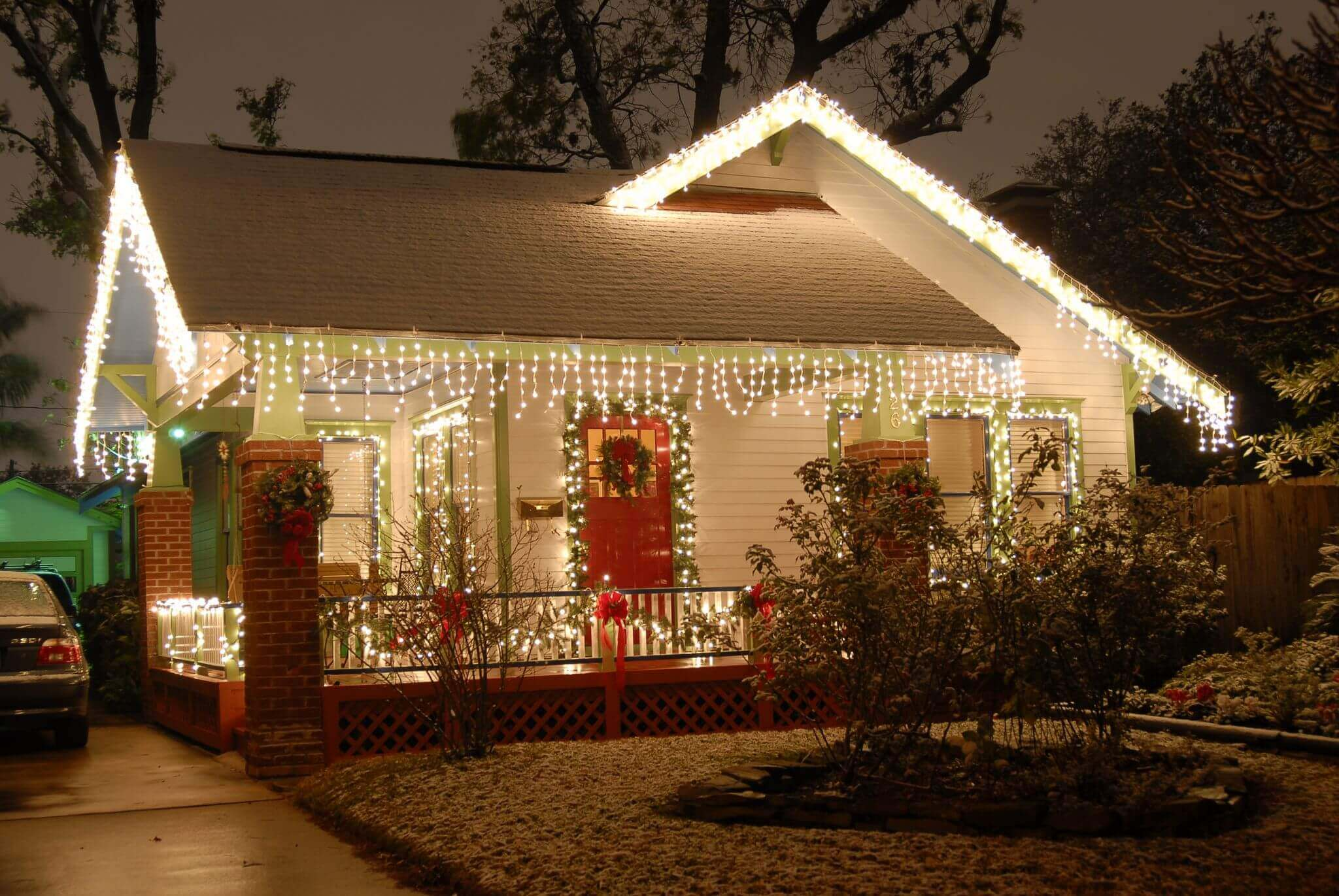Decorated Homes Christmas Inside