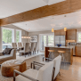 Open House Design Diverse Luxury Touches With Open Floor