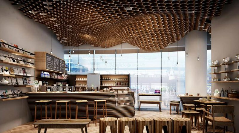 Coffee Shop Interior Design Source Of Modern Interior