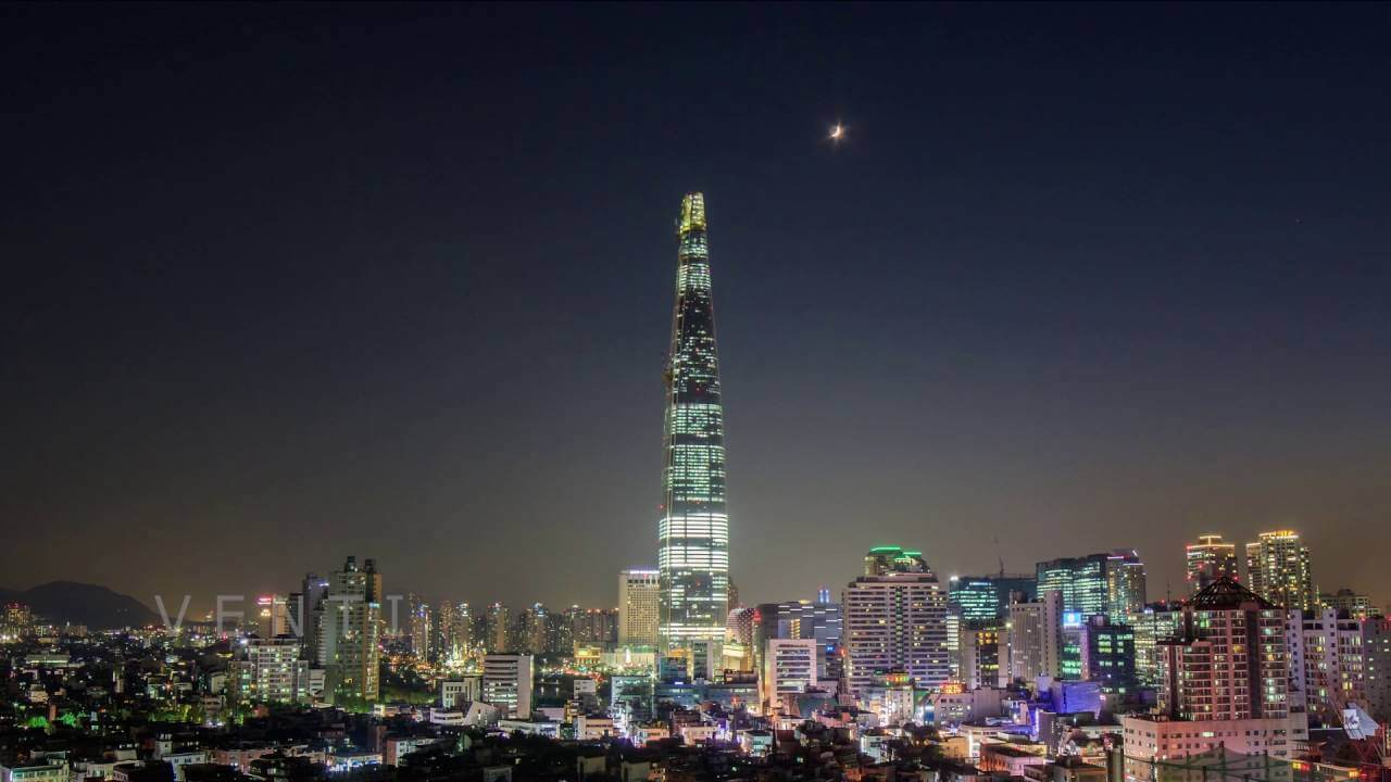 Lotte World Tower Of Seoul  South Koreas Tallest Building