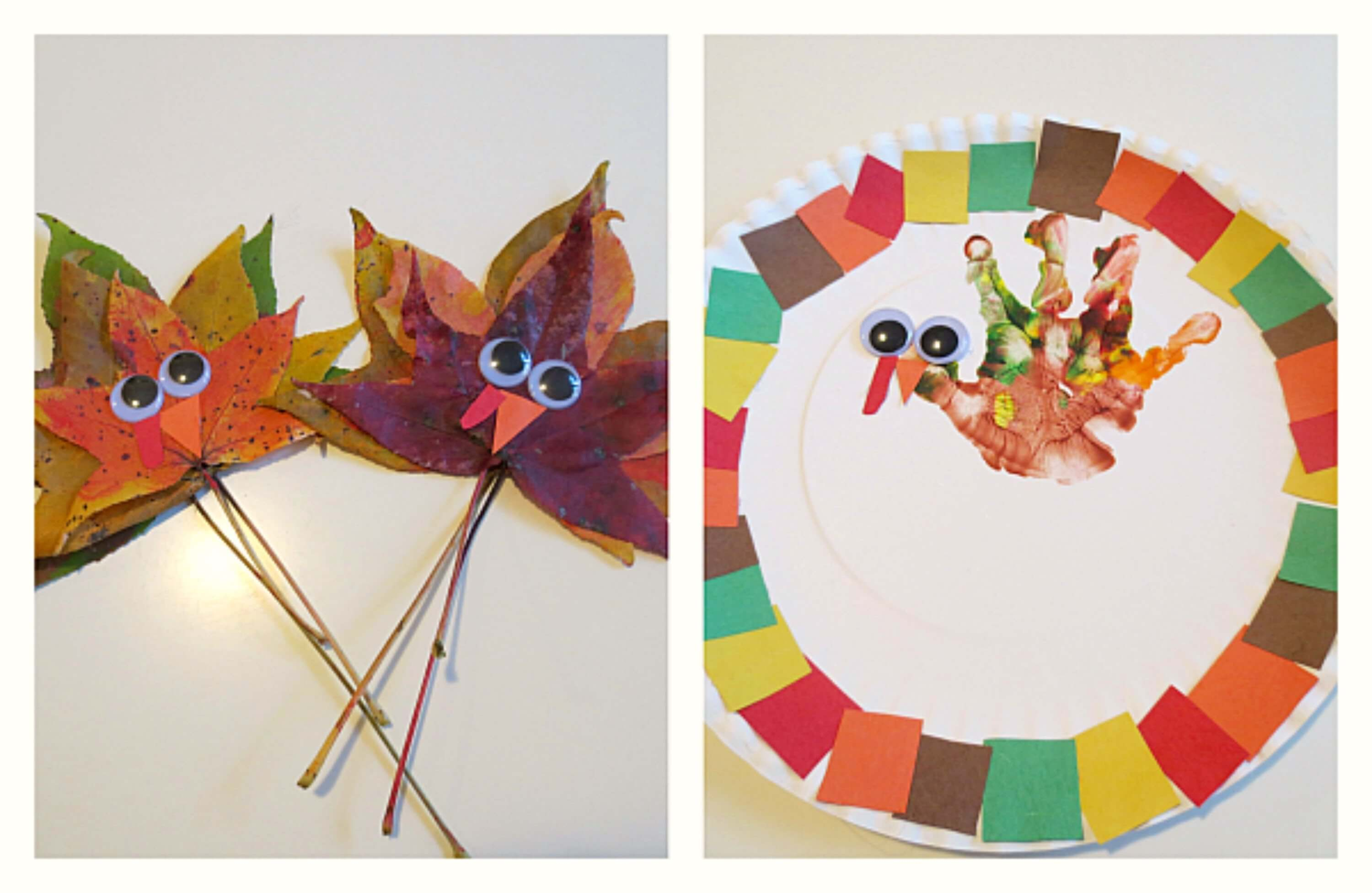 22 Easy Thanksgiving Crafts For Kids Architectures Ideas
