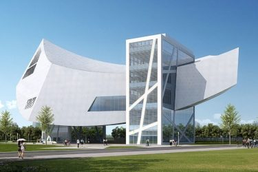 buildings modern architecture building industrial museum creative architectural shaped concepts materials most china iconic architect daniel libeskind dam designed rendering