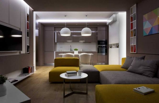 Most Innovative Interior Design Ideas For Modern Small Apartments