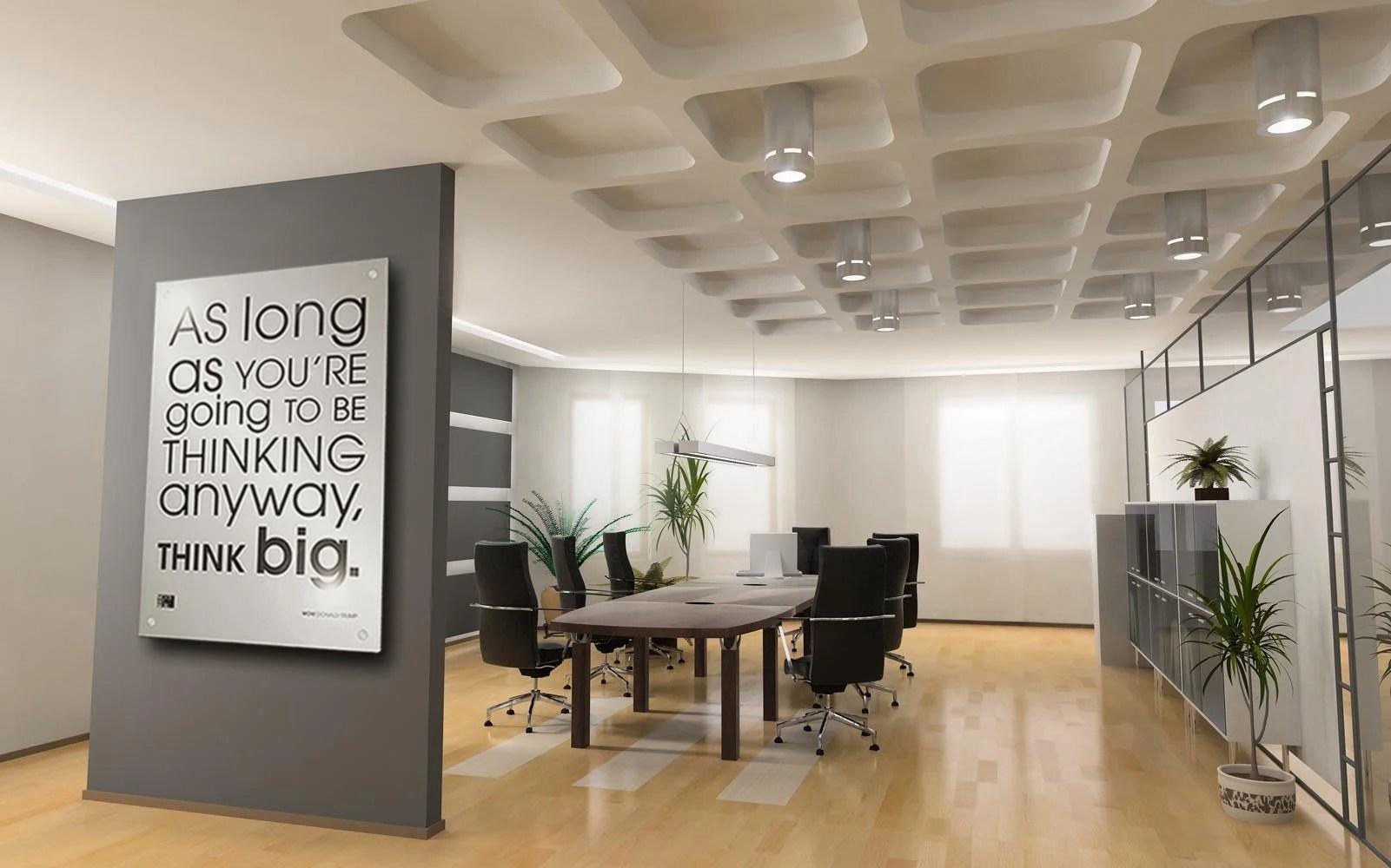 80 creative office wall