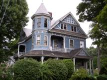Queen Anne Style Architecture Turrets
